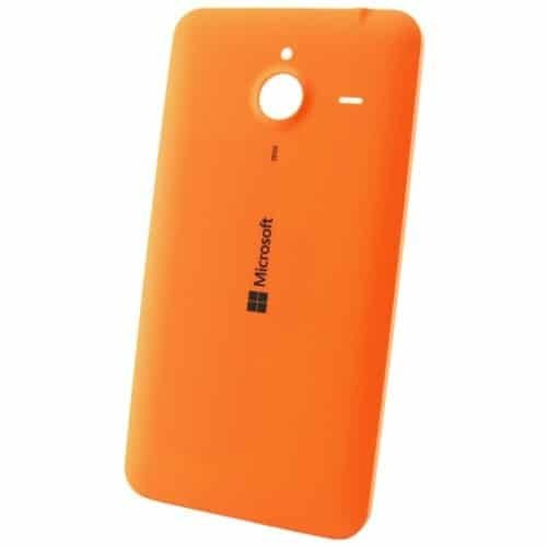 Microsoft Lumia 640 XL battery cover orange