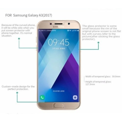 galaxy a3 2017 glass 3