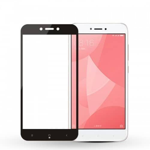 Xiaomi Redmi 4X - Full 3D - Tempered Glass -Μαύρο