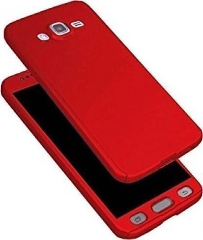 360 FULL BODY ΘΗΚΗ + TEMPERED GLASS SAMSUNG J5 2016 red