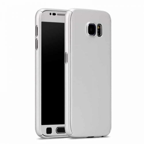 Galaxy A5 2016 – Full Body 360 + Tempered Glass – Silver-oem