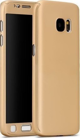 Galaxy A5 2016 – Full Body 360 + Tempered Glass – gold oem