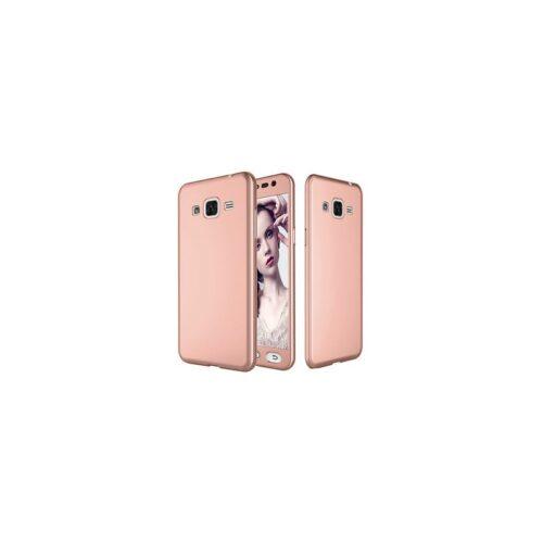 Galaxy J3 2016 - Full Body 360 + Tempered Glass - rose -oem