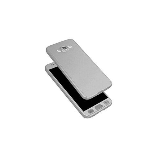 Galaxy J3 2016 - Full Body 360 + Tempered Glass - silver-oem