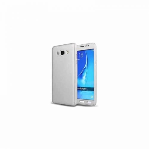 Galaxy j7 2016 – Full Body 360 + Tempered Glass -silver– oem