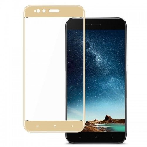 Xiaomi Mi A1 Mi 5X - Full Cover Tempered Glass -Χρυσό