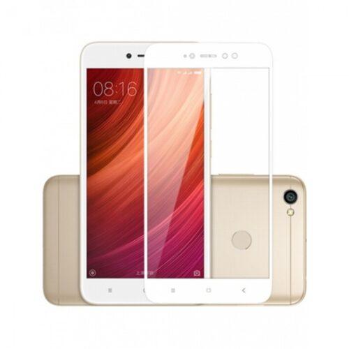 Xiaomi Redmi Note 5A prime - Full Cover Tempered Glass – Λευκό