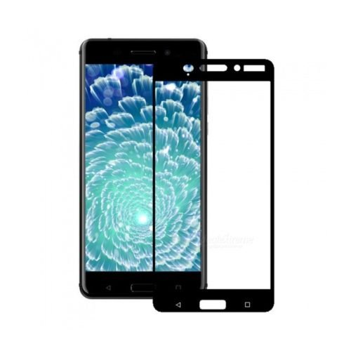 Nokia 6 – Full Face Tempered Glass - Μαύρο -oem