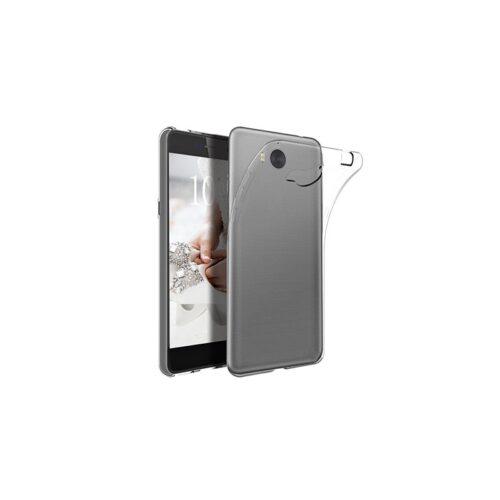 OEM Back Cover Σιλικόνης 0.3mm Διάφανο (Huawei Y6 2017)
