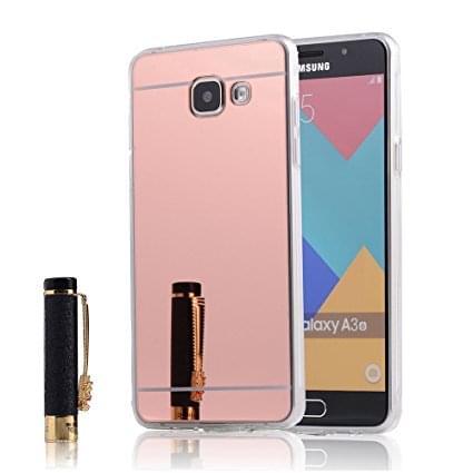 OEM Forcell Mirror Σιλικόνης Ροζ (Galaxy A5 2016)