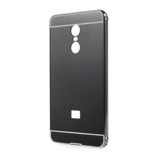 OEM Silicone Mirror Case Black ( Xiaomi Redmi Note 4x)