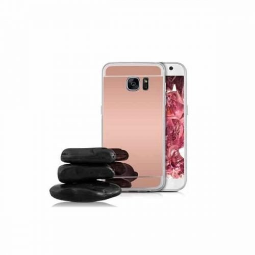 OEM Silicone Mirror Rose Gold (Galaxy S7 Edge)