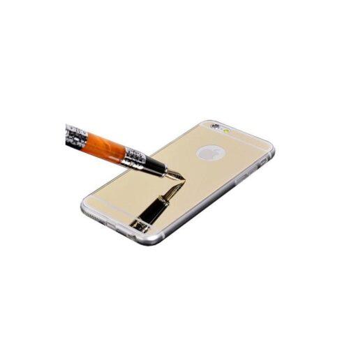 OEM Silicone Mirror Slim Fit Gel Gold (iPhone 6)