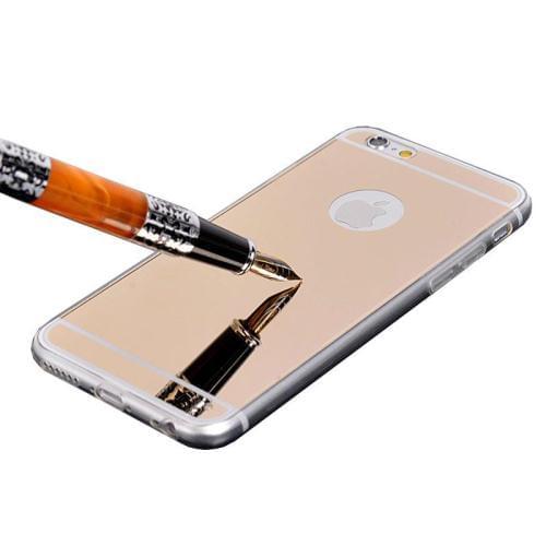OEM Silicone Mirror Slim Fit Gel Pink (Apple iPhone 6)