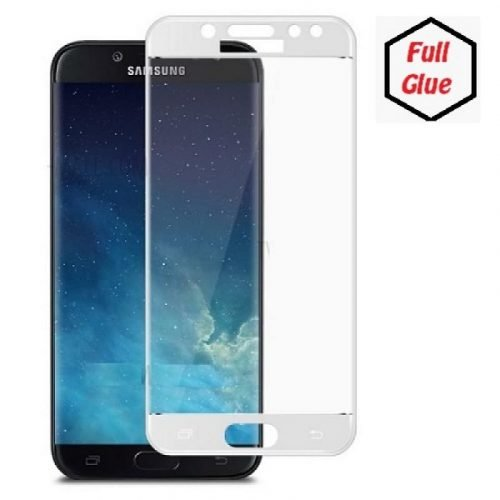 Samsung Galaxy J5 2017 (J530F) 5D - Full Glass - Full GLUE - White