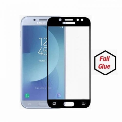 Samsung Galaxy J7 2017 (J730F) 5D - Full Glass - Full GLUE - Black
