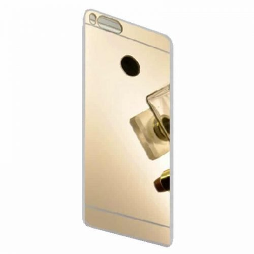 Xiaomi Mi 5X Mi A1 TPU Silicone Back Cover Case -Mirror – Gold