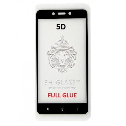 Xiaomi Redmi 4X 5D - Full Glass - Full GLUE - Black