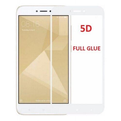 Xiaomi Redmi 4X 5D - Full Glass - Full GLUE - White