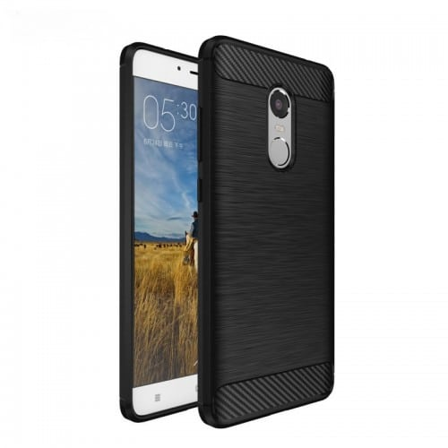 Xiaomi-Redmi-Note-4-Case-Xiaomi-Redmi-Note-4X-Pro-Cover-Silicone-Soft-TPU-Brushed-Carbon-