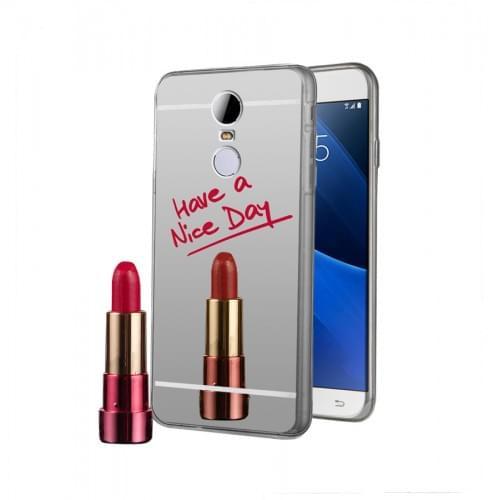 Xiaomi Redmi Note 4 Mirror Silicone Case Silver