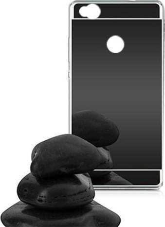 oem_mirror_back_cover_silikonis_Black_xiaomi_redmi_4x