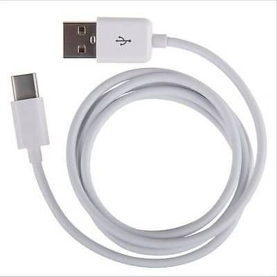 Samsung Regular USB 2.0 Cable USB-C male - USB-A male Λευκό 1.5m (EP-DW700CWE)