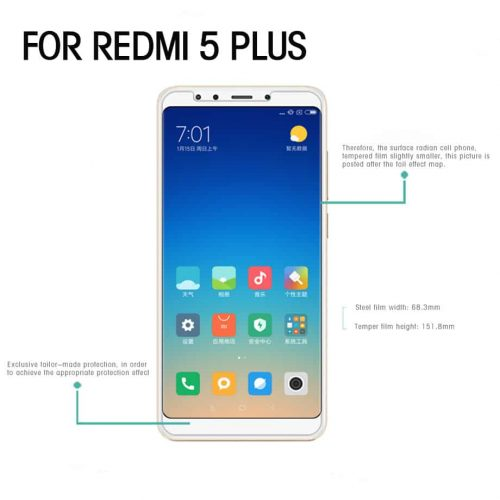 xiaomi redmi 5 plus tempered glass