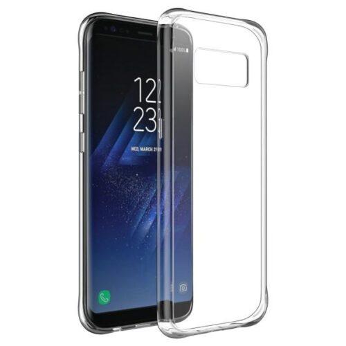 OEM Back Cover Σιλικόνης 0.3mm Διάφανο (Galaxy S8)
