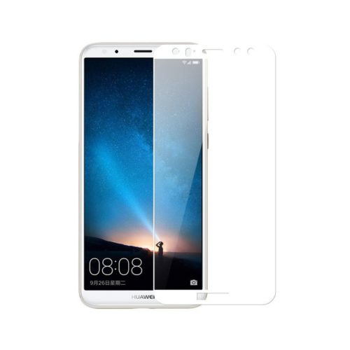 Huawei Mate 10 Lite - Full Tempered Glass - White- oem