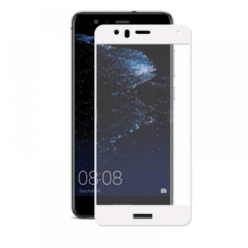 Huawei P10 Lite - Full Tempered Glass - White- oem