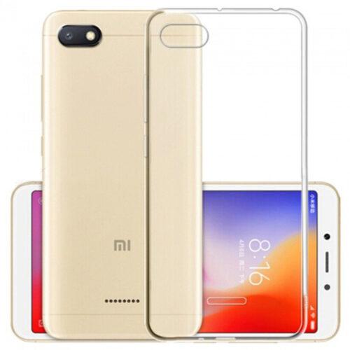 OEM Back Cover Σιλικόνης 0.3mm Διάφανο (Xiaomi Redmi 6a)