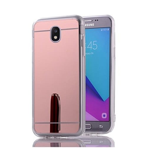 OEM Mirror Back Cover Σιλικόνης Ροζ (Galaxy J5 2017)