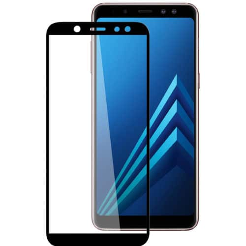 Samsung A6 PLUS 2018 - Full 3D Tempered Glass - Black