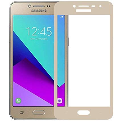 Samsung Galaxy J4 2018 - Full Tempered Glass - gold oem