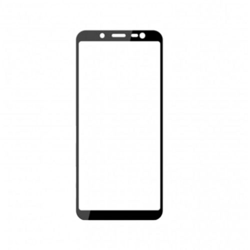 Samsung J6 2018 – Full Face Tempered Glass - Μαυρο - oem