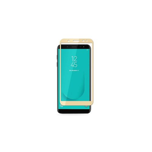 Samsung J6 2018 – Full Face Tempered Glass -gold - oem