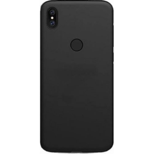 XIAOMI MI A2 MI 6X SILICONE BACK COVER CASE BLACK OEM