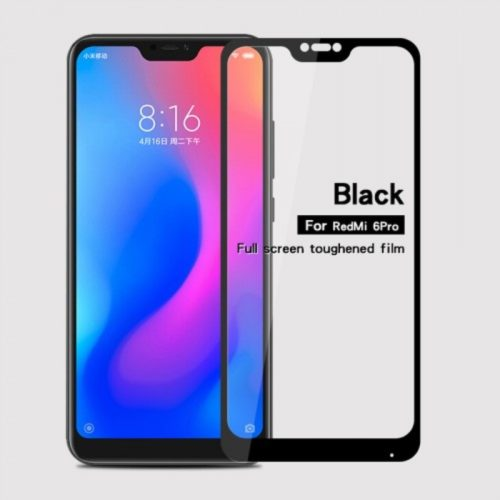 Xiaomi Mi A2 Lite (Redmi 6 Pro) -full glass black