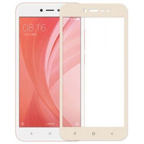 Xiaomi Redmi Note 5 PRO - Full Tempered Glass - Gold- oem