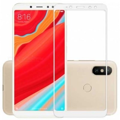 Xiaomi redmi S2 - Full Tempered Glass - white oem