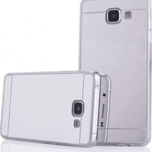 OEM Forcell Silicone Mirror Silver (Galaxy A5 2016)