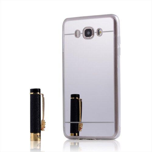 OEM Mirror TPU Silver Transparent (Galaxy J7 2016)