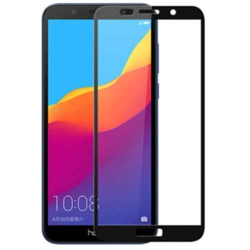 Ηuawei Y5 2018 - Full 3D Cover Tempered Glass - Μαυρο