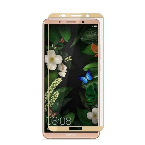 Huawei Mate 10 Pro - Full face 3D Cover Tempered Glass - Χρυσο
