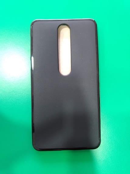 OEM Flash Mat Back Cover Μαύρο (Nokia 6.1)