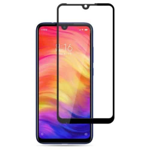5D Full Glue Full Face Tempered Glass Black (Redmi 7)
