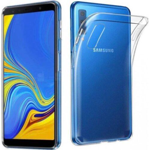 Back Cover Σιλικόνης Διάφανο (Galaxy A50)