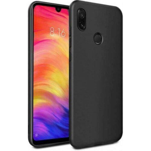 Back Cover Σιλικόνης Μαύρο (Xiaomi Redmi 7)