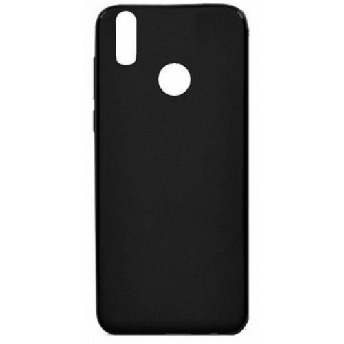 Back Cover Σιλικόνης Μαύρο (Xiaomi Redmi Note 6 Pro)
